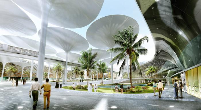 Масдар Сити - город  будущего.