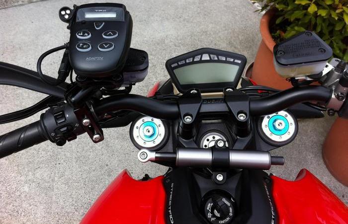 Полезный гаджет: антирадар для мотоцикла.