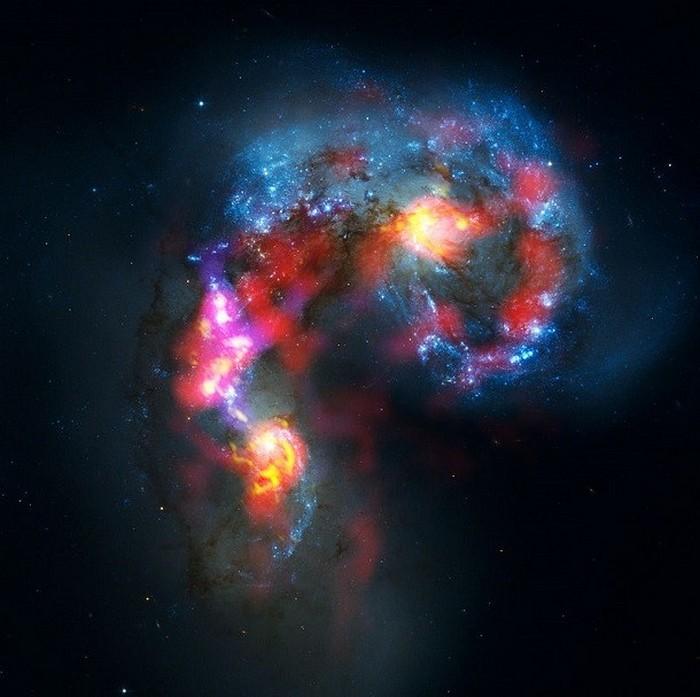 Галактики-антенны