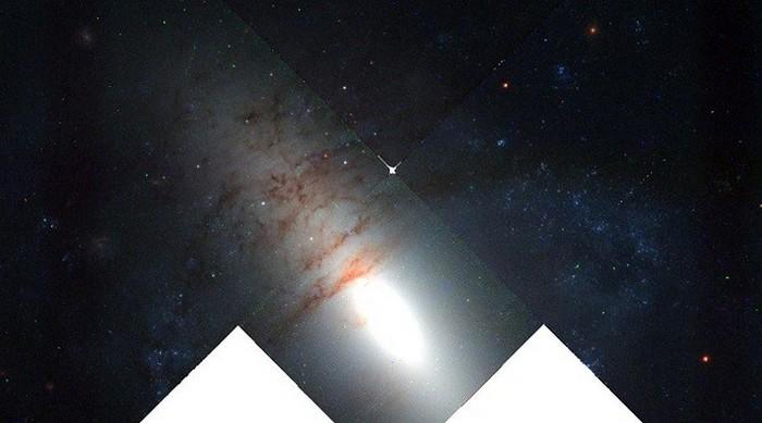 NGC 2685 - одна из редких разновидностей галактик.