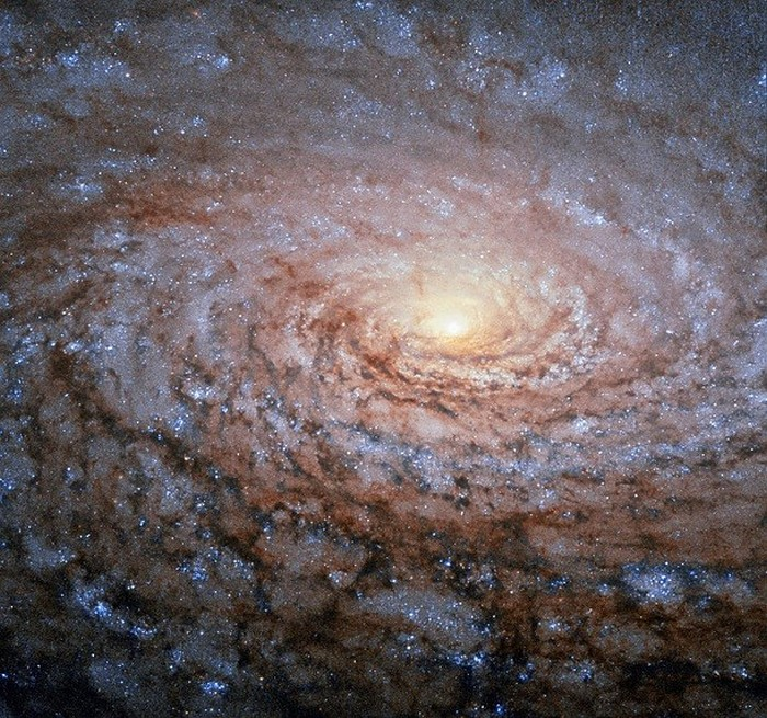 Галактика-подсолнечник: словно с картины Винсента Ван Гога