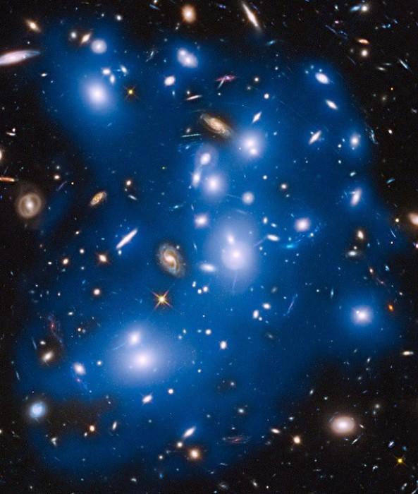 Галактика, в которой царит настоящий хаос.