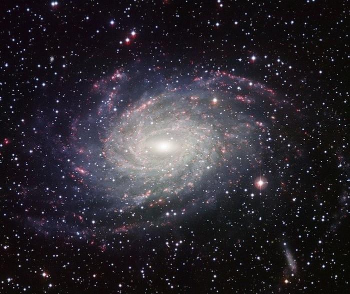 NGC 6744 - большая спиральная галактика.