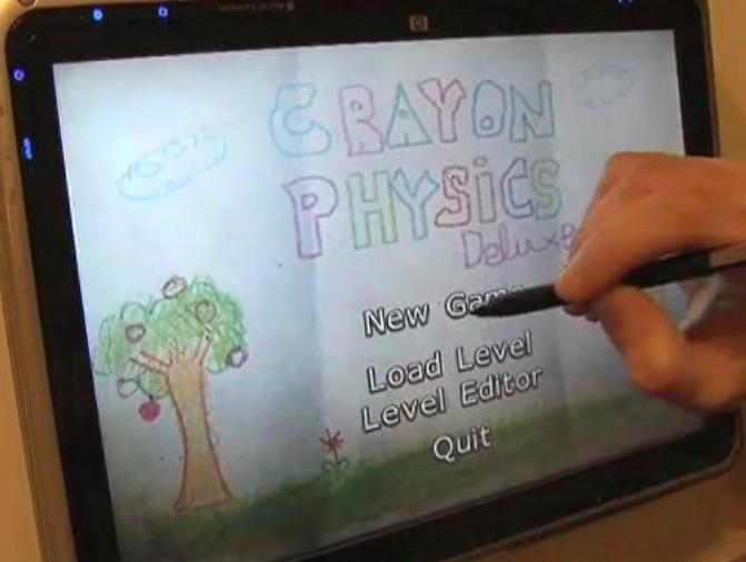 Crayon Physics Deluxe - простая и такая полезная игра.