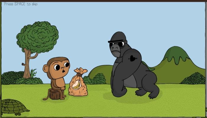 Программируем с обезьянкой.