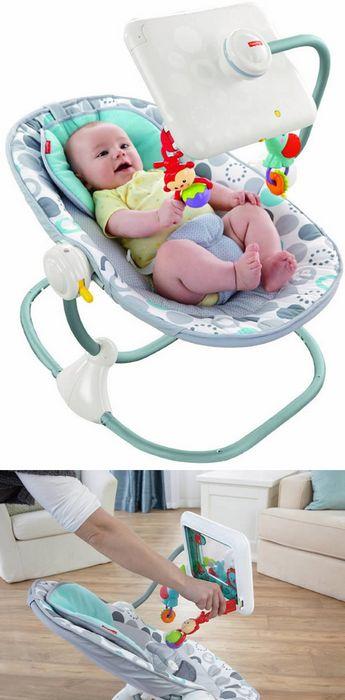 Детский стульчик с Ipad.