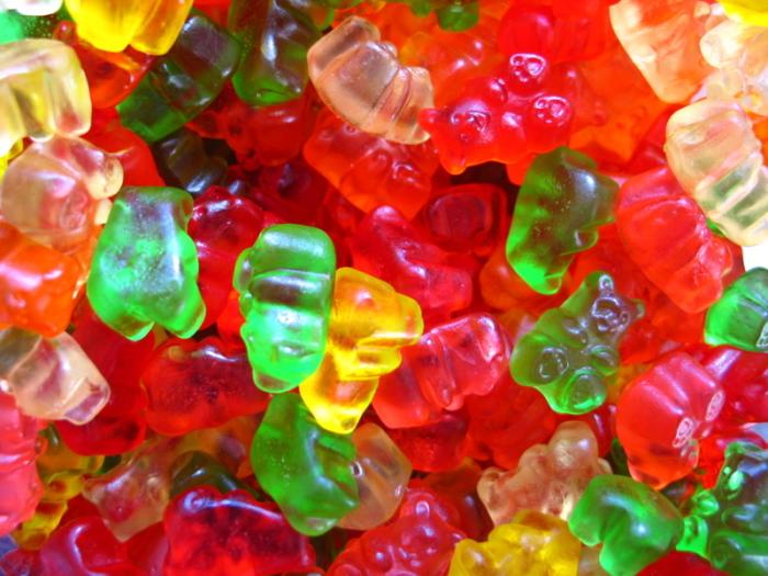 Желейные конфеты.