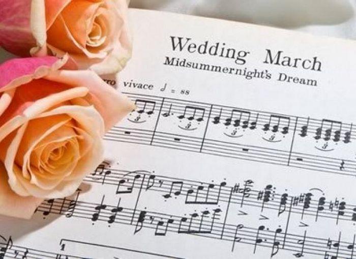 Свадебный марш.