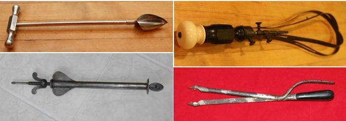 Страшные гинекологические инструменты.