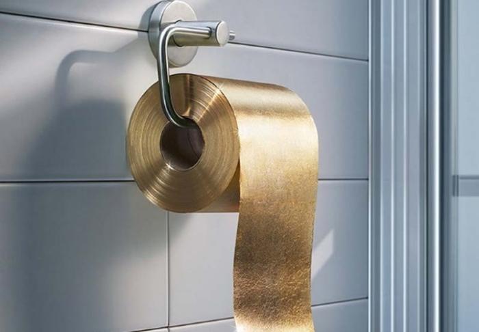 1,9 млн долларов за рулон туалетной бумаги.