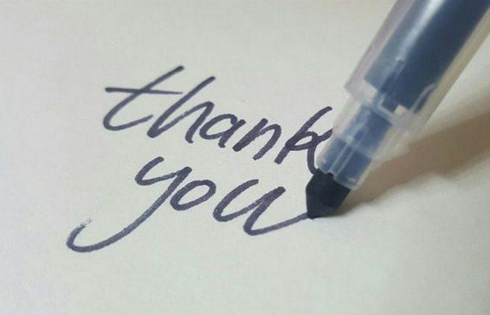 Благодарность может стать утомительной задачей.