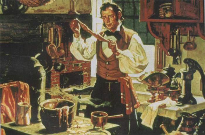 Чарльз Гудиер - создатель вулканизированной резины.