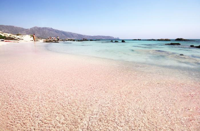 Розовый пляж Харбор.