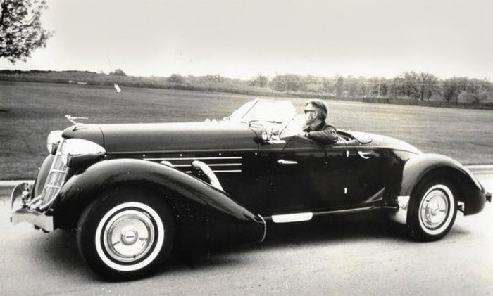 1937 Cord 812 Supercharged Convertible Phaeton.