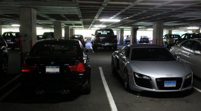 Потерять BMW, чтобы найти.