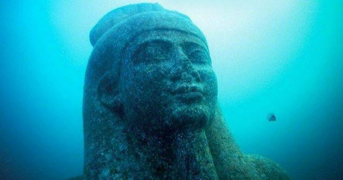 Древнеегипетский город Гераклеон.
