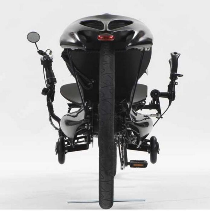Joystick Bike: вид сзади.