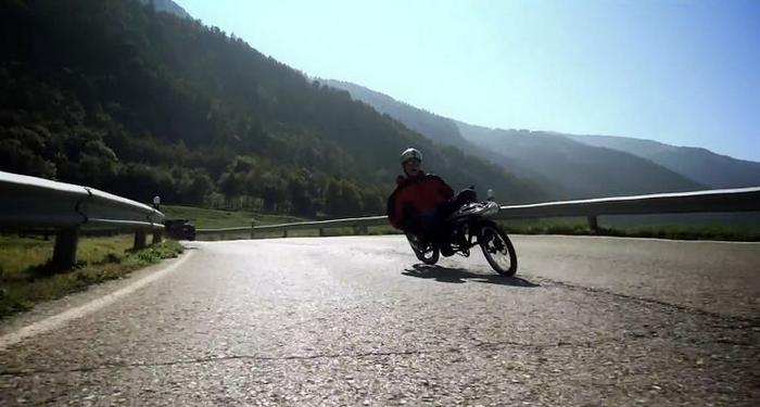 Joystick Bike - уверенность на дороге.