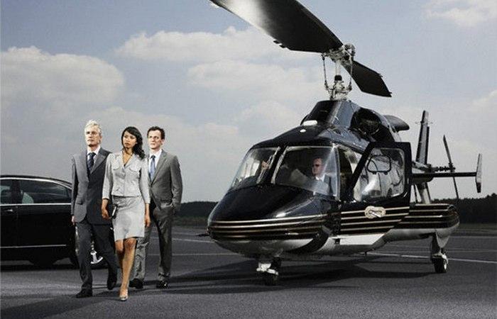 Вертолётное такси - скажи нет пробкам!
