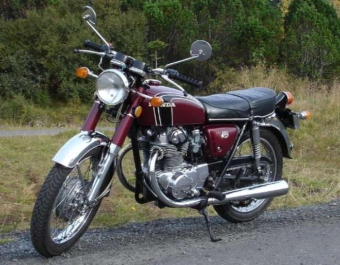 Honda CB250.