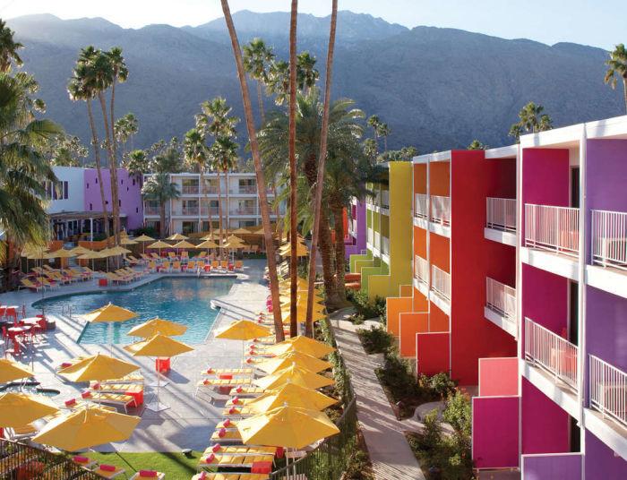 Saguaro Hotel - в таком отеле не заскучаешь.