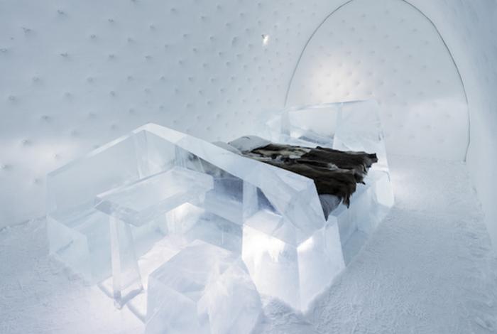 Ледяной отель за Полярным кругом
