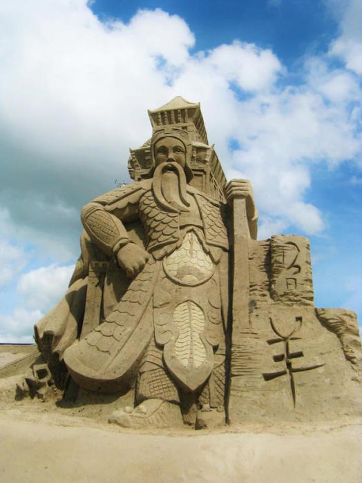 Отели из песка в Нидерландах.