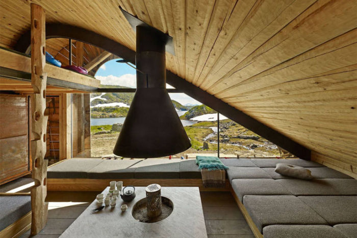 Эко-интерьер норвежского домика.