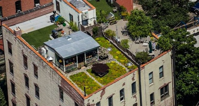 Вилла на крыше Манхэттена