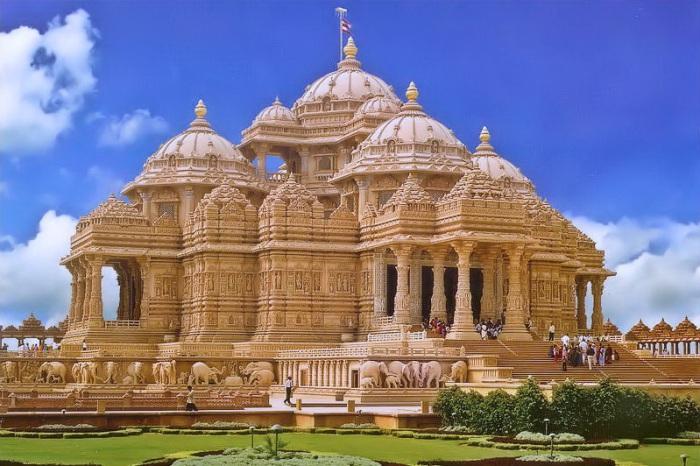 Храм Акшардхам и другие удивительные творения современных архитекторов.