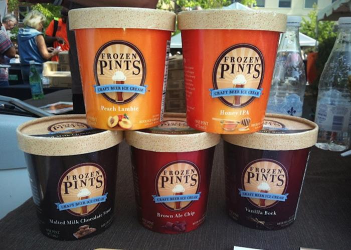 Пивное мороженое.