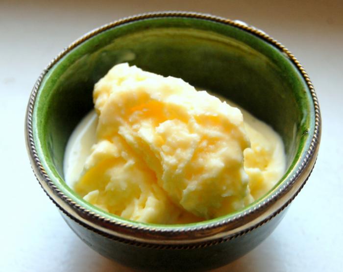 Мороженое с хреном.