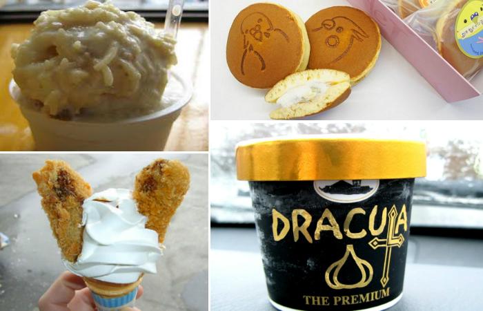 Необычное мороженое.