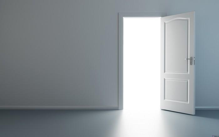 Двери как граница событий.