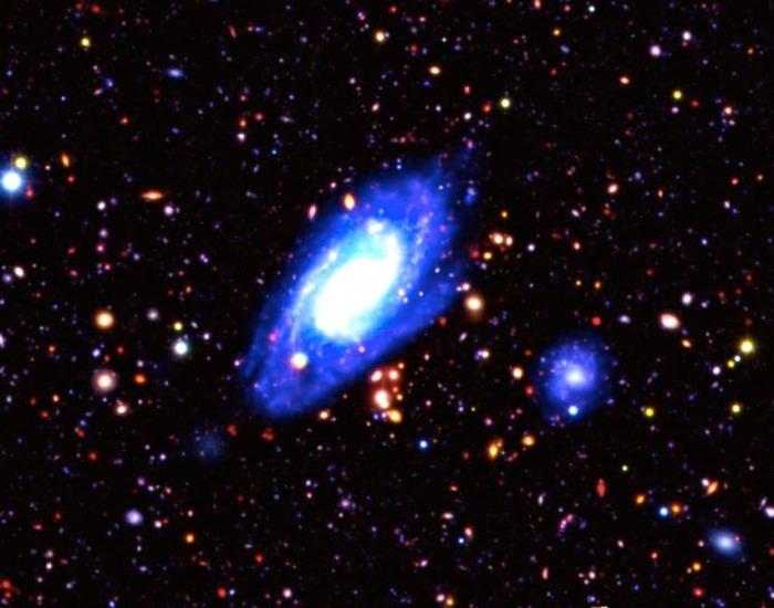 Удивительные снимки с ИК-телескопа.