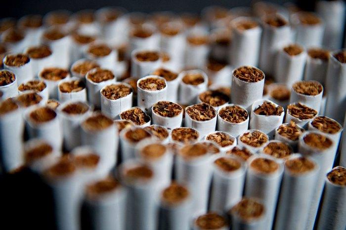 Такие вредные сигареты.