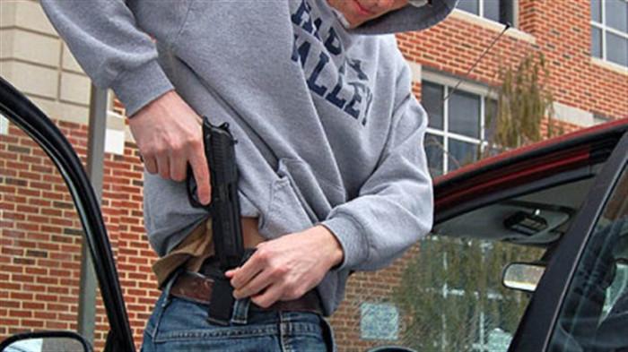 Личное оружие: необходимость или излишество.
