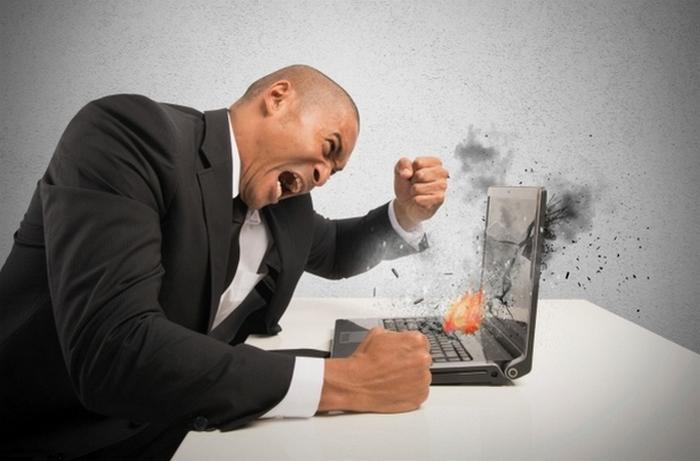 Интернет как территория негатива