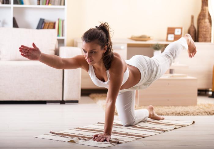 Динамическая йога дома: Как сбросить вес в и оздоровиться за несколько недель