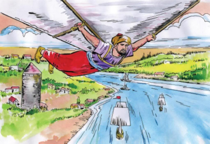 Межконтинентальный перелет -идяя Хезарфена Ахмеда Чалаби.