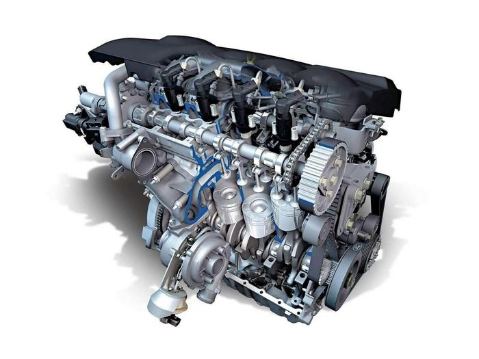 Двигатель внутреннего сгорания.