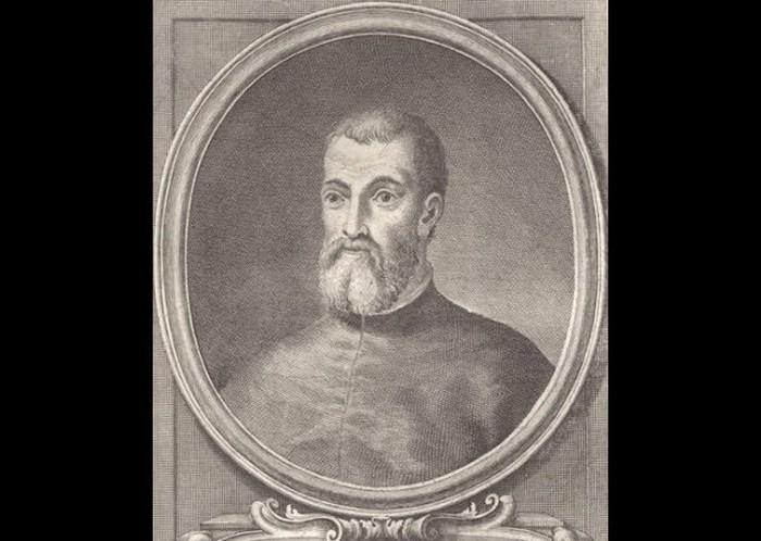 Обезглавленный гуманист Якопо Бонфадио.