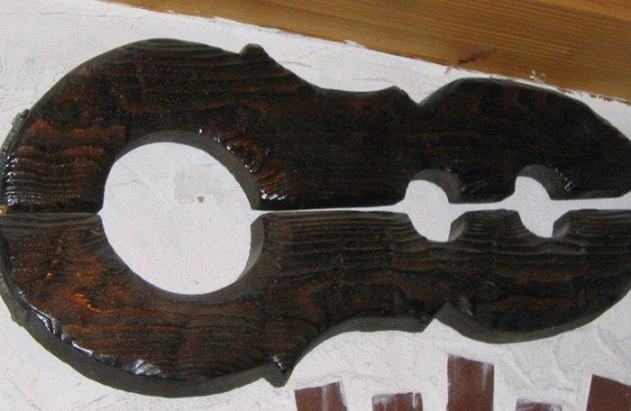 Скрипка для чересчур строптивых жен.