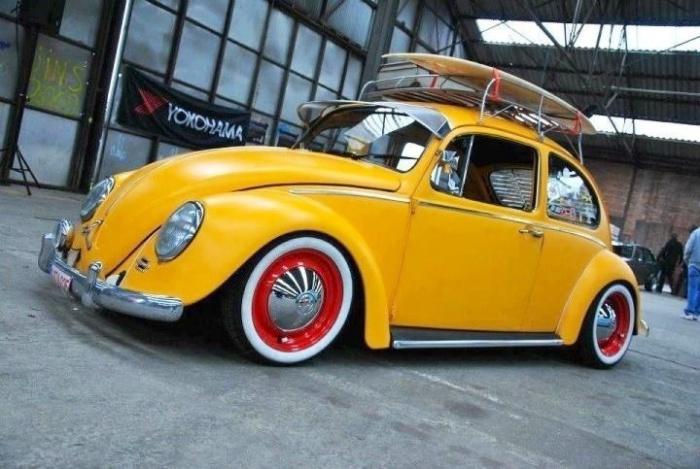 Легендарный Volkswagen Beetle.