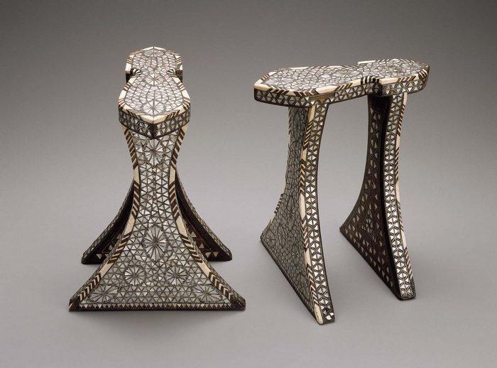 Женская обувь в Ливане в 14-17 веке.