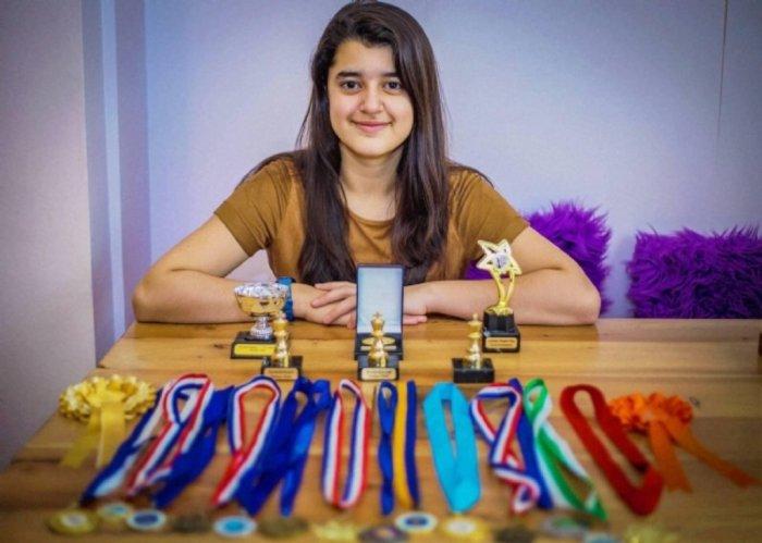 Кашмеа Вахи - самая умная девочка в мире.