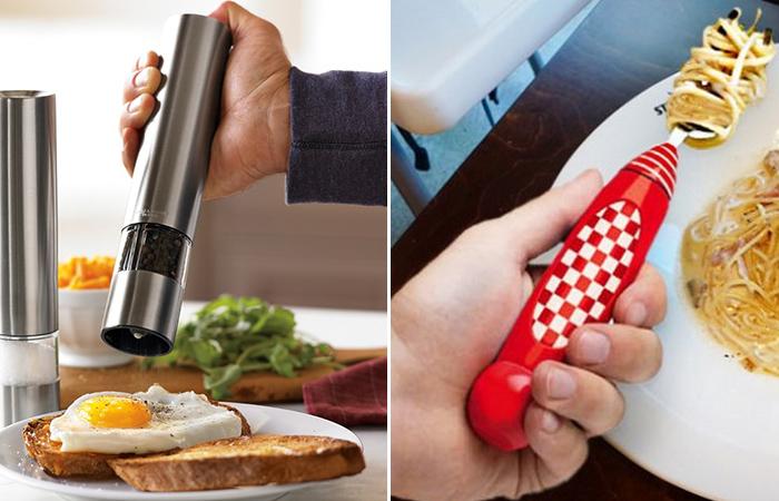 10 странных кухонных гаджетов, которые будут полезны на каждой кухне.
