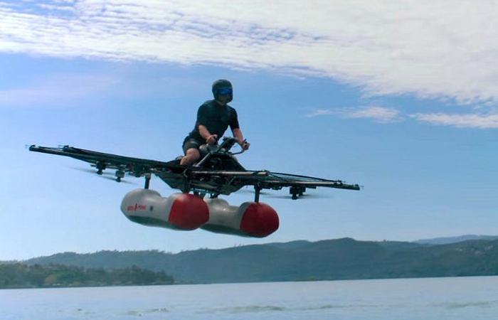 Cказочный летучий корабль стал реальностью.