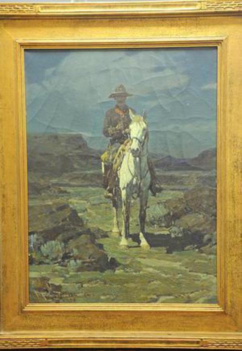Картина Франка Тенни Джонсона.