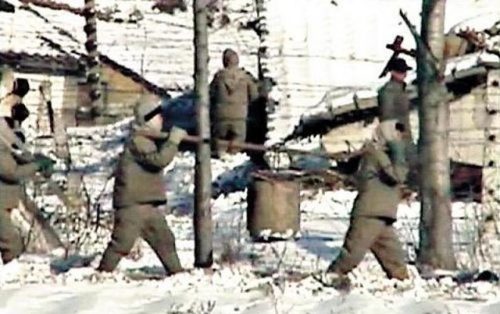 Кван-ли-со (тюремно-трудовой лагерь) №14 (скрытая съёмка).